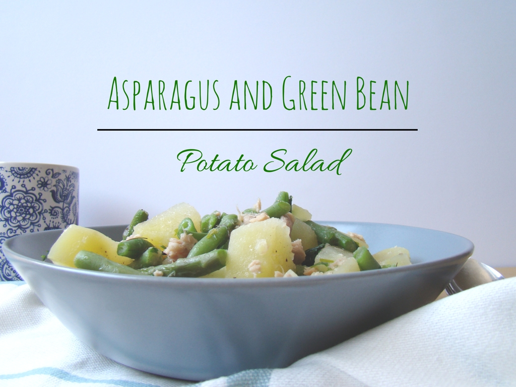 Asparagus and Green Bean Potato Salad